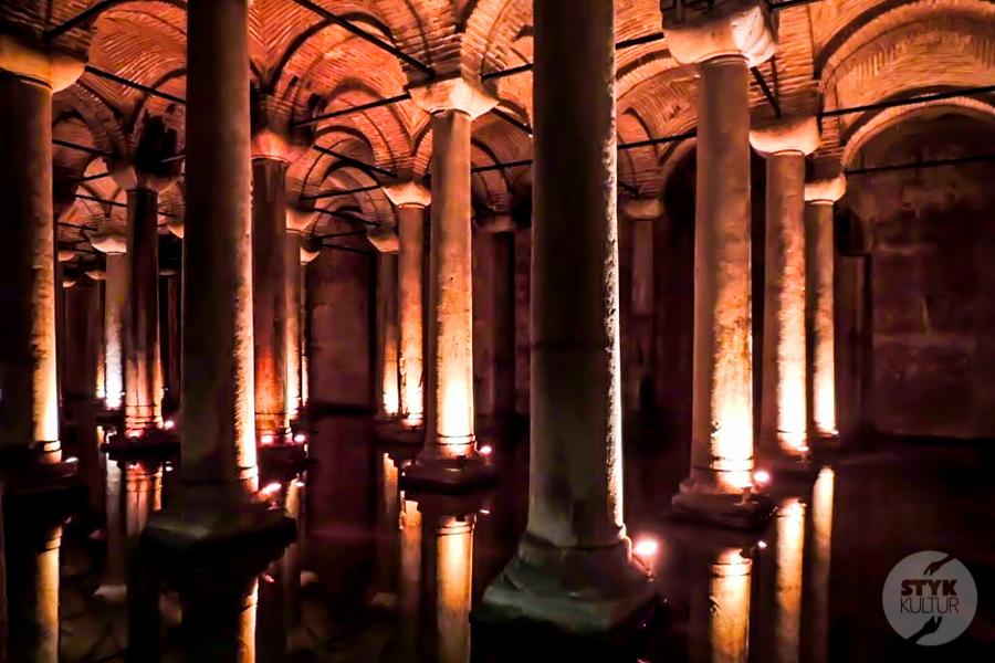 CysternaBazyliki 2013 3 of 7 Cysterna Bazyliki w Stambule (Pałac Jerebatan)
