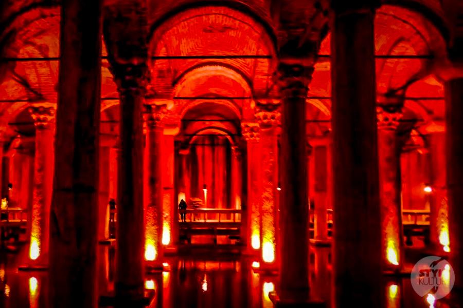 CysternaBazyliki 2013 6 of 7 Cysterna Bazyliki w Stambule (Pałac Jerebatan)