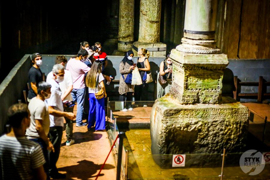 CysternaBazyliki 2020 7 of 13 Cysterna Bazyliki w Stambule (Pałac Jerebatan)