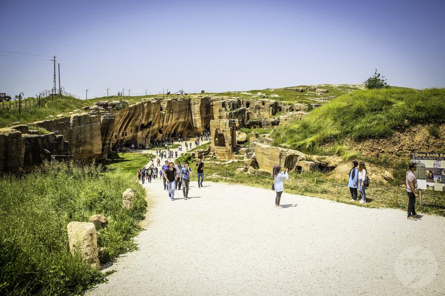 Dara Turcja nekropolia 2 Niezwykłe odkrycia archeologów w tureckiej Darze, zaledwie 10 km od granicy z Syrią
