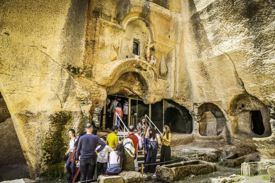 Dara Turcja nekropolia 6 Niezwykłe odkrycia archeologów w tureckiej Darze, zaledwie 10 km od granicy z Syrią