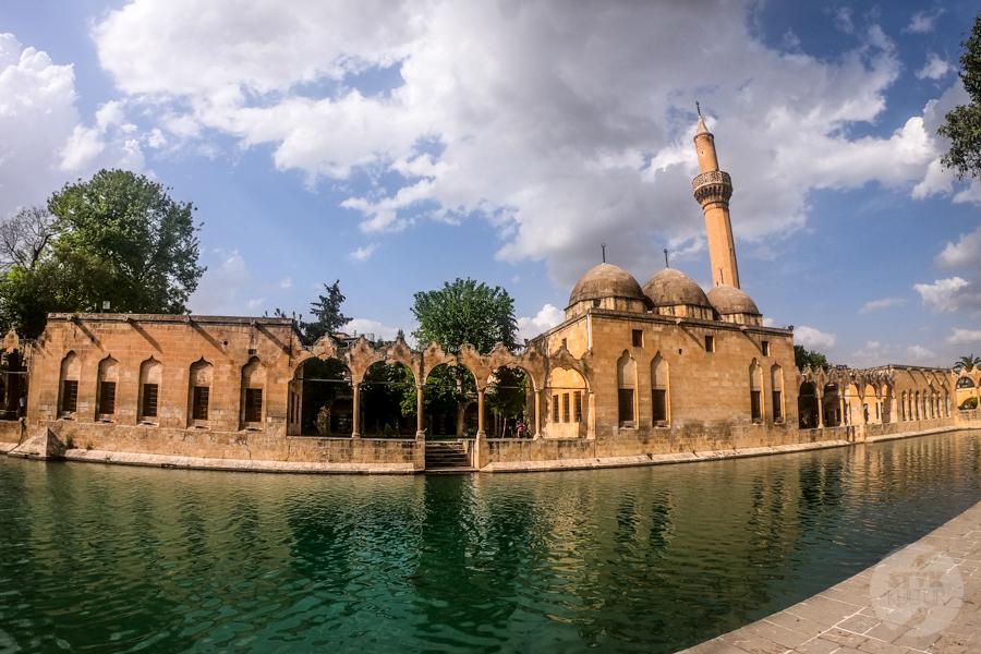 Sanliurfa meczet 2 of 1 Şanliurfa   miejsce narodzin proroka Ibrahima oraz cel pielgrzymek muzułmanów (Turcja Wschodnia)