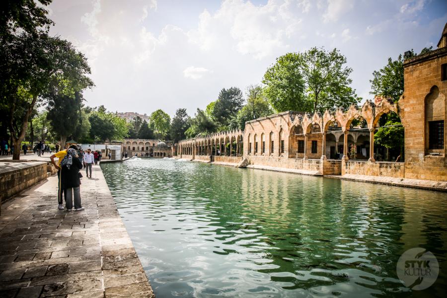 Sanliurfa meczet 6 of 7 Şanliurfa   miejsce narodzin proroka Ibrahima oraz cel pielgrzymek muzułmanów (Turcja Wschodnia)