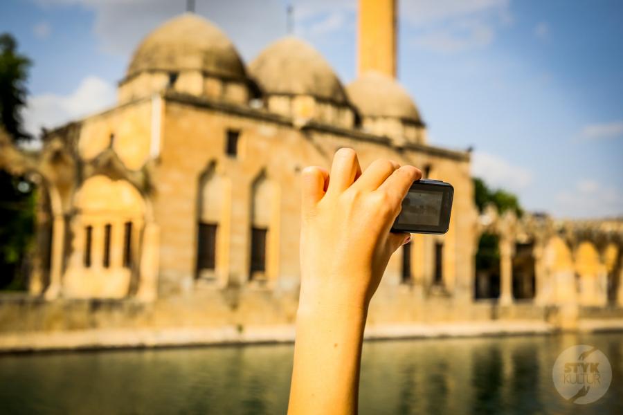 Sanliurfa meczet 8 of 7 Şanliurfa   miejsce narodzin proroka Ibrahima oraz cel pielgrzymek muzułmanów (Turcja Wschodnia)