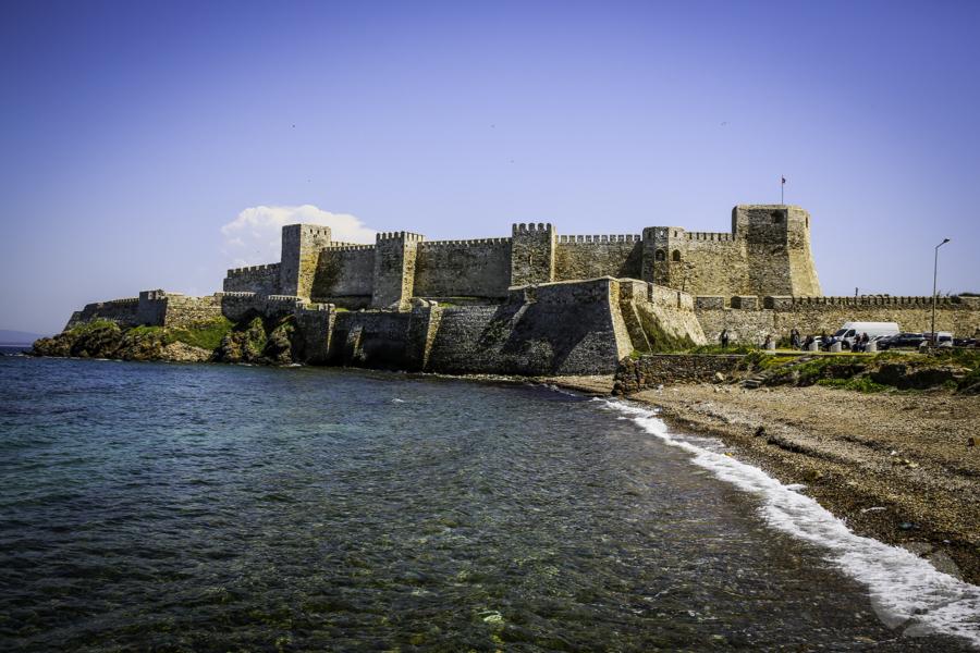 Turcja Bozcaada zamek 1 Zamek na wyspie Bozcaada (północno zachodnia Turcja)