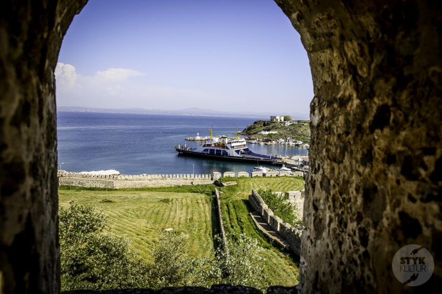 Turcja Bozcaada zamek 10 Zamek na wyspie Bozcaada (północno zachodnia Turcja)