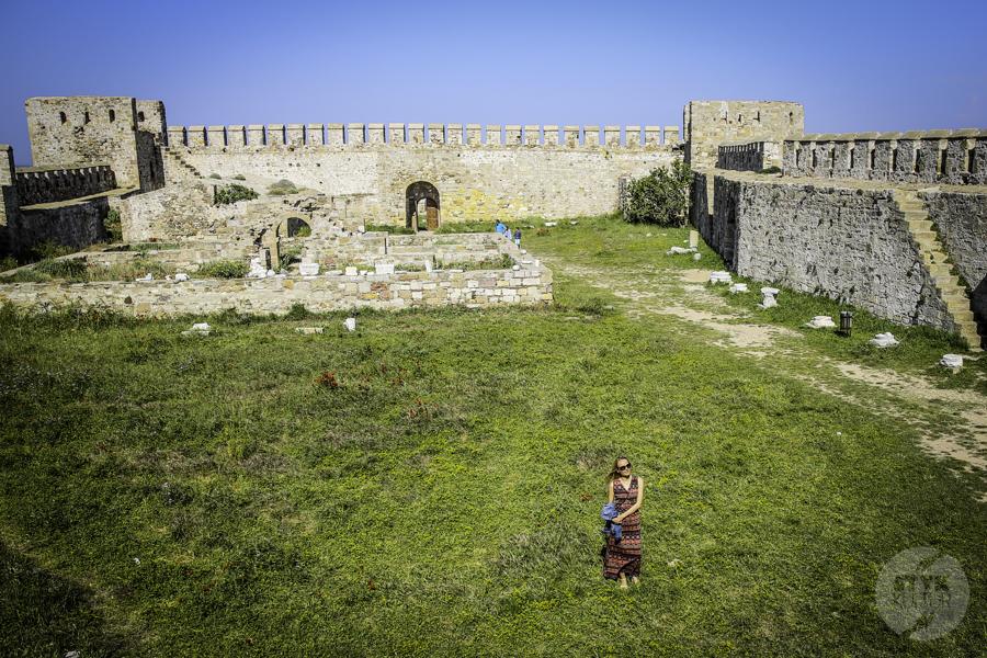 Turcja Bozcaada zamek 14 Zamek na wyspie Bozcaada (północno zachodnia Turcja)