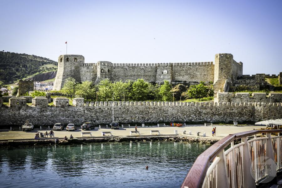 Turcja Bozcaada zamek 16 Zamek na wyspie Bozcaada (północno zachodnia Turcja)