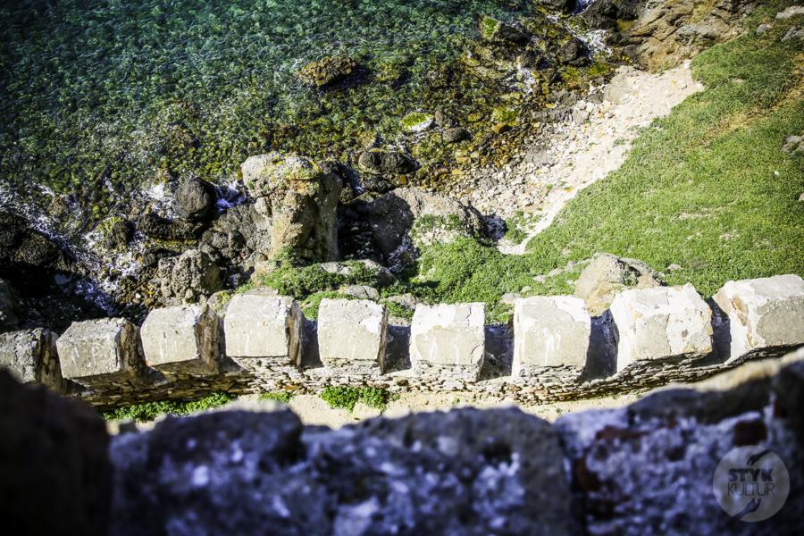 Turcja Bozcaada zamek 4 Zamek na wyspie Bozcaada (północno zachodnia Turcja)