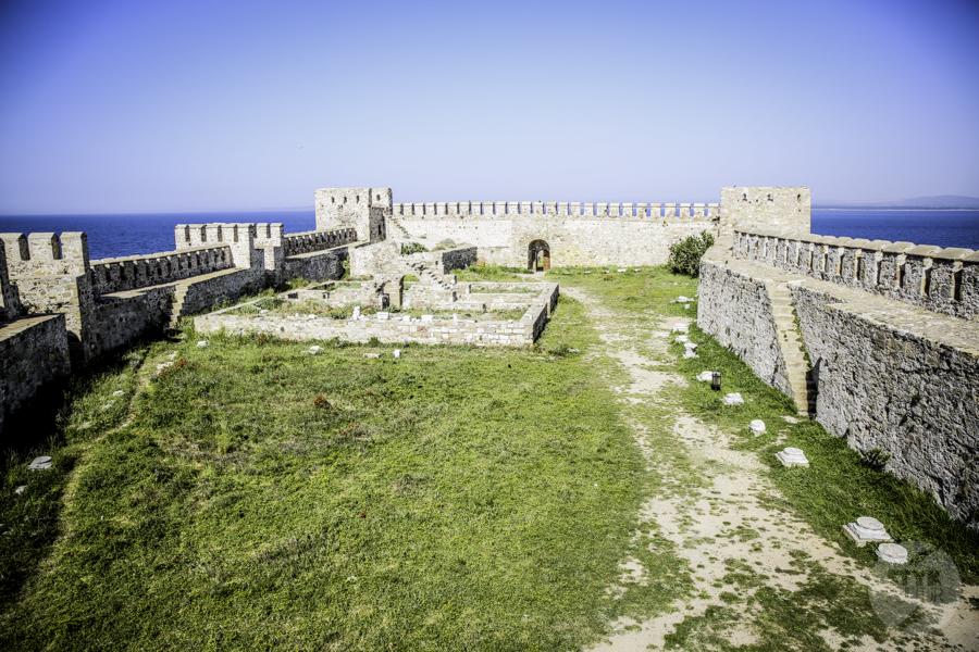 Turcja Bozcaada zamek 8 Zamek na wyspie Bozcaada (północno zachodnia Turcja)