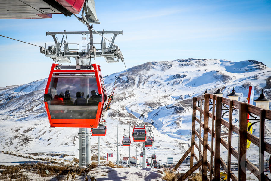 ErciyesSkiMerkezi Turcja 23 of 47 Narty w Turcji, rzut beretem od Kapadocji. Odwiedziliśmy Erciyes Ski Resort!