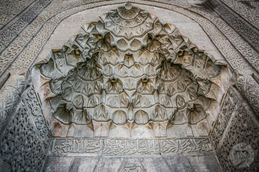 HunanHatun meczet 4 of 1 Kayseri   anatolijska stolica handlu i  centrum tureckiego narciarstwa