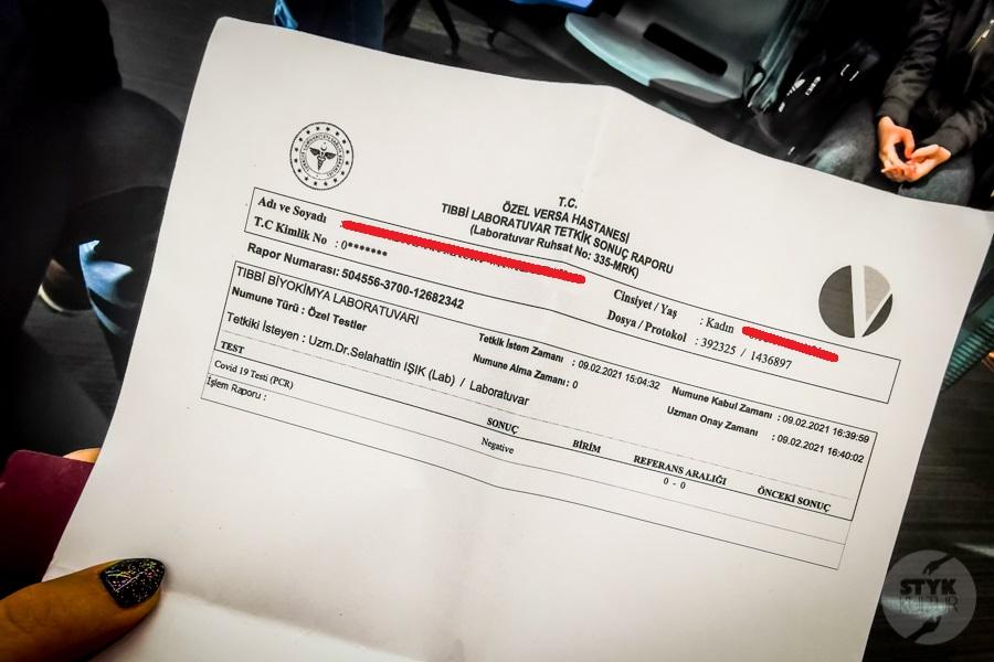 PCR IstanbulAirpirt 4 of 1 Ile kosztuje test PCR na lotnisku w Stambule? Jak długo czeka się na wyniki?
