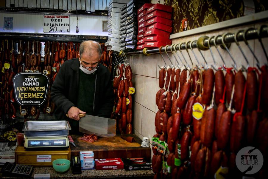 Kayseri bazar 3 of 5 Drugi największy historyczny bazar Turcji: 800 letni Kayseri Çarşısı