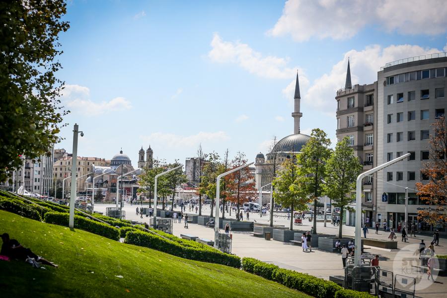 Plac Taksim Stambul 5 of 5 Otwarcie Meczetu Taksim w Stambule odbędzie się 7 maja
