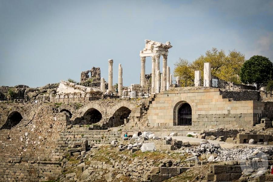 Pergamon Turcja 2 of 6 Gdzie leży starożytny Pergamon? Jak tam dotrzeć?